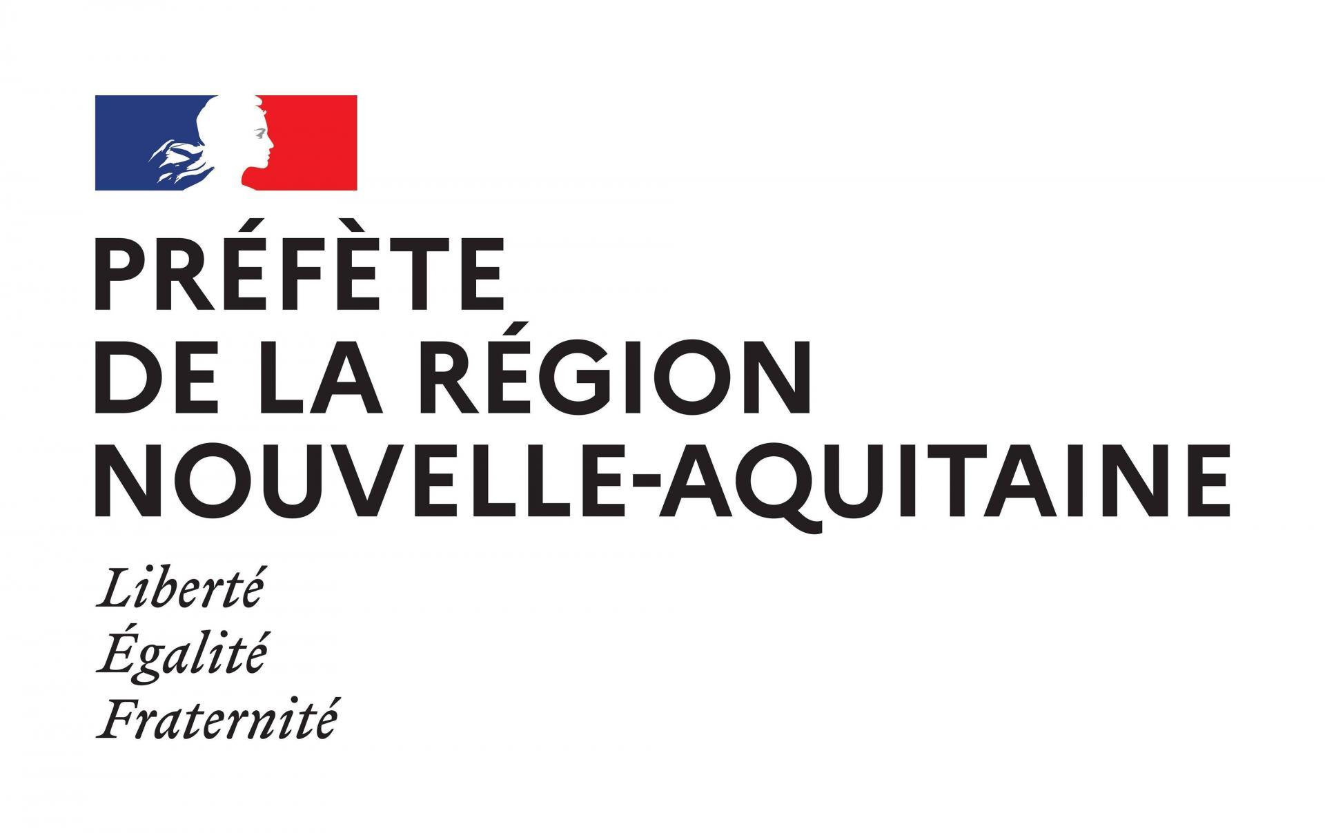 Prefete region nouvelle aquitaine couleurs